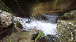 Canyoning-Annecy-Le canyon de la Mine près d'Annecy-5
