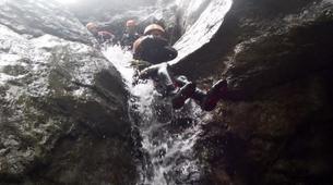 Canyoning-Salzburg-Canyoning Tour at the Almbachklamm near Salzburg-2