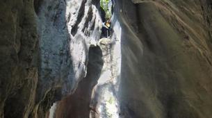 Canyoning-Annecy-Canyoning du Pont du Diable près d'Aix-les-Bains-5