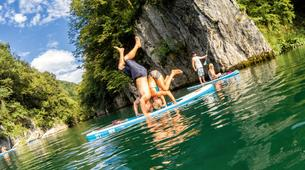 Stand Up Paddle-Bovec-Unique SUP Tour in the Soca Valley, Slovenia-2