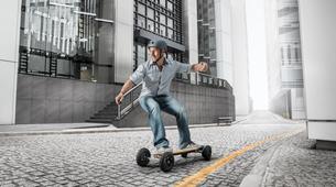 Skateboarding-Annecy-Randonnée skate électrique sur les bords du lac d'Annecy-2