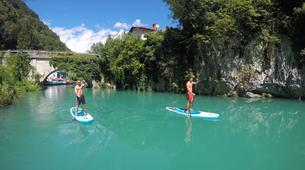 Stand Up Paddle-Bovec-Unique SUP Tour in the Soca Valley, Slovenia-5