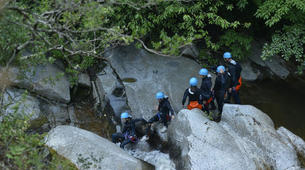 Canyoning-Pyrénées Orientales-Canyoning dans les Gorges du Cady-4