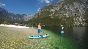 Stand Up Paddle-Bohinj-Unique Alpine SUP Tour on Lake Bohinj, Slovenia-6