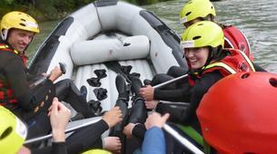 Rafting-Salzbourg-Fun Rafting on the river Salzach in Schwarzach near Salzburg, Austria-6
