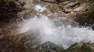 Canyoning-Annecy-Le canyon de la Mine près d'Annecy-2