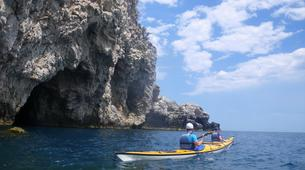 Sea Kayaking-Taormina-Guided Kayak Tour along the Taormina Coast-3