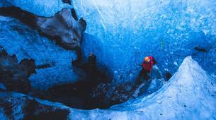 Caving-Vatnajokull National Park-Ice cave tour on the Vatnajökull Glacier-5