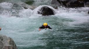 Canyoning-Alagna Valsesia-Intermediate Canyoning in Artogna Canyon near Alagna Valsesia, Aosta Valley-1