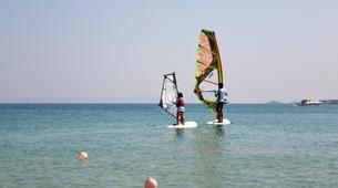Windsurf-Antiparos-Windsurfing & SUP & Yoga lesson in Antiparos, Greece-1