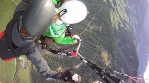 Parapente-Salzbourg-Tandem Paragliding flight over Werfenweng-4