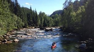 Kayaking-Voss-Tandem River Kayaking in Voss-2