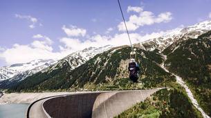Zipline-Zillertal-Flying Fox Zipline entlang des Schlegeis Damms-3