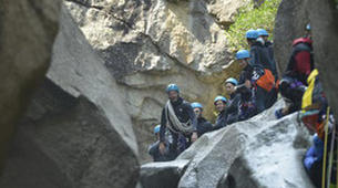 Canyoning-Pyrénées Orientales-Canyoning dans les Gorges du Cady-1