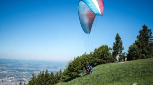 Paragliding-Salzburg-Tandem Paragliding near Salzburg, Austria-4