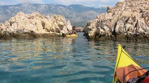 Kayak de mer-Rab-4-day Kayaking Trip around Rab Island-6