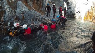 Canyoning-Riserva Naturale Orientata Bosco di Malabotta-Body rafting in the Alcantara Gorges, Sicily-4