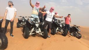 Quad biking-Dubai-Sunset Quad Biking & Sand Boarding Package in Dubai-9
