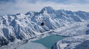 Helicopter tours-Aoraki / Mount Cook-Helicopter Flight in the Ben Ohau Mountain Range-3