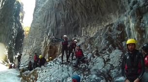 Canyoning-Riserva Naturale Orientata Bosco di Malabotta-Body rafting in the Alcantara Gorges, Sicily-3
