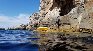 Kayak de mer-Kamenjak-Sea kayaking adventure through the caves of Cape Kamenjak, Croatia-1