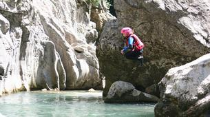 Canyoning-Château d'Oex-Canyoning at Torneresse Gorge in Château-d'Oex-1