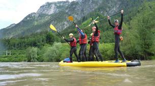 Stand Up Paddle-Salzbourg-Supsquatch on the Salzach, Austria-3