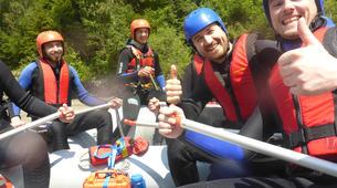 Rafting-Imst-Action Rafting auf der Inn, Österreich-4