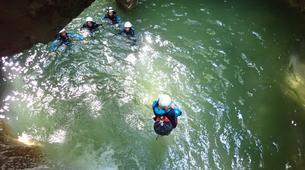 Canyoning-Annecy-Canyon du Pont du Diable, Bellecombes-en-Bauges-5