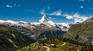 Parapente-Zermatt-Tandem paragliding flight in Zermatt with a Matterhorn view-2