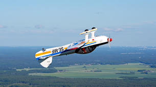Aerobatics-Uppsala-Introductory Flight over Uppsala, Sweden-2