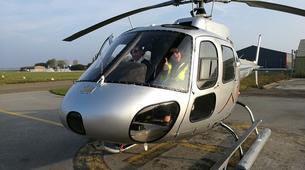 Helicoptère-Dijon-Baptême de l'air en hélicoptère à Beaune, Bourgogne-6