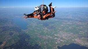 Skydiving-Lucerne-Tandem skydive over Lucerne, central Switzerland-4