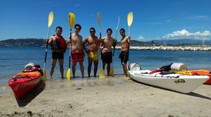 Canoë-kayak-Cannes-Location kayak de mer sur les îles du Lérins, près de Cannes-5