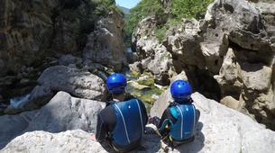 Canyoning-Omis-Basic canyon of Cetina River, Omiš-2