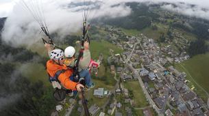 Paragliding-Les Gets, Portes du Soleil-Baptême de parapente aux Gets, Portes du soleil-6