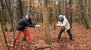 Stage de Survie-Dijon-Stage de survie trappeur en forêt au Nord de Dijon, Bourgogne-14