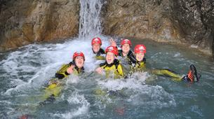 Canyoning-Ötztal-Canyoning the Hachle Gorge in the Ötztal, near Innsbruck-5