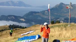 Paragliding-Les Gets, Portes du Soleil-Baptême de parapente aux Gets, Portes du soleil-1