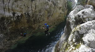 Canyoning-Omis-Extreme canyon of Cetina River, Omiš-4