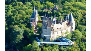 Helicoptère-Dijon-Baptême de l'air en hélicoptère à Beaune, Bourgogne-3