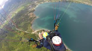 Paragliding-Annecy-Tandem paragliding flight over Annecy Lake-9