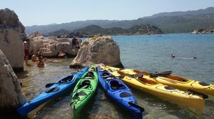 Kayak de mer-Kas-Sea Kayaking Tour of Kekova Sound-6