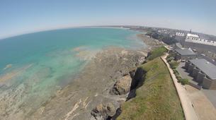 Parapente-Le Mont-Saint-Michel-Baptême en parapente à Granville, Normandie-4