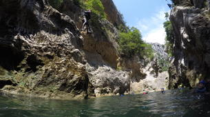 Canyoning-Omis-Extreme canyon of Cetina River, Omiš-5