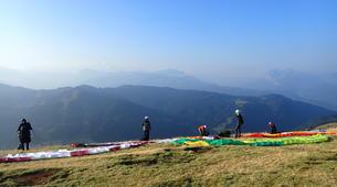 Paragliding-Les Gets, Portes du Soleil-Baptême de parapente aux Gets, Portes du soleil-4