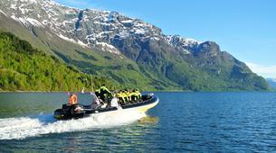 Jet Boat-Skjolden-Jet Boat & Hike to Feigumfossen waterfall-1