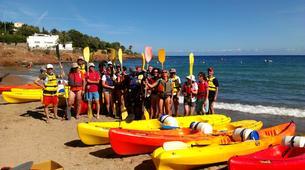 Canoë-kayak-Cannes-Location kayak de mer sur les îles du Lérins, près de Cannes-6