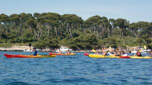 Canoë-kayak-Cannes-Location kayak de mer sur les îles du Lérins, près de Cannes-8