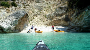 Sea Kayaking-Lefkada-Sea Kayaking Excursion to Papanikolis Cave-1